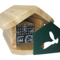606.35 Cozy Summer Leafcutter Bee home