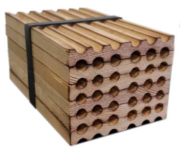 610-14 Wood MasonBee Nests