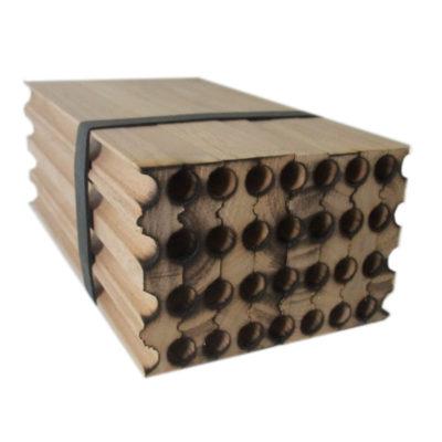 610.28 Natural wooden nests-STARTER
