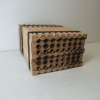 610.48 Natural wooden nests-Tall
