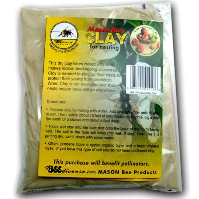 841.01 Clay for Mason Bees