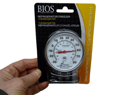 936.01 Thermometer for fridge